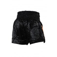 Short Boxe Thai ThaiFight Noir/Orange