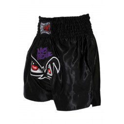 "Short Boxe Thai ""NO FEAR"" Noir"