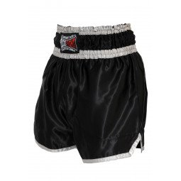 "Short Boxe Thai ""NO LIMIT"" noir"