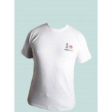 T-shirt Blanc Judo