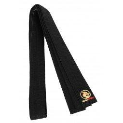 Ceinture Taekwondo Piquée Noire