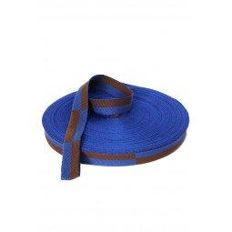 Rouleau Ceinture Karaté Bleu/marron