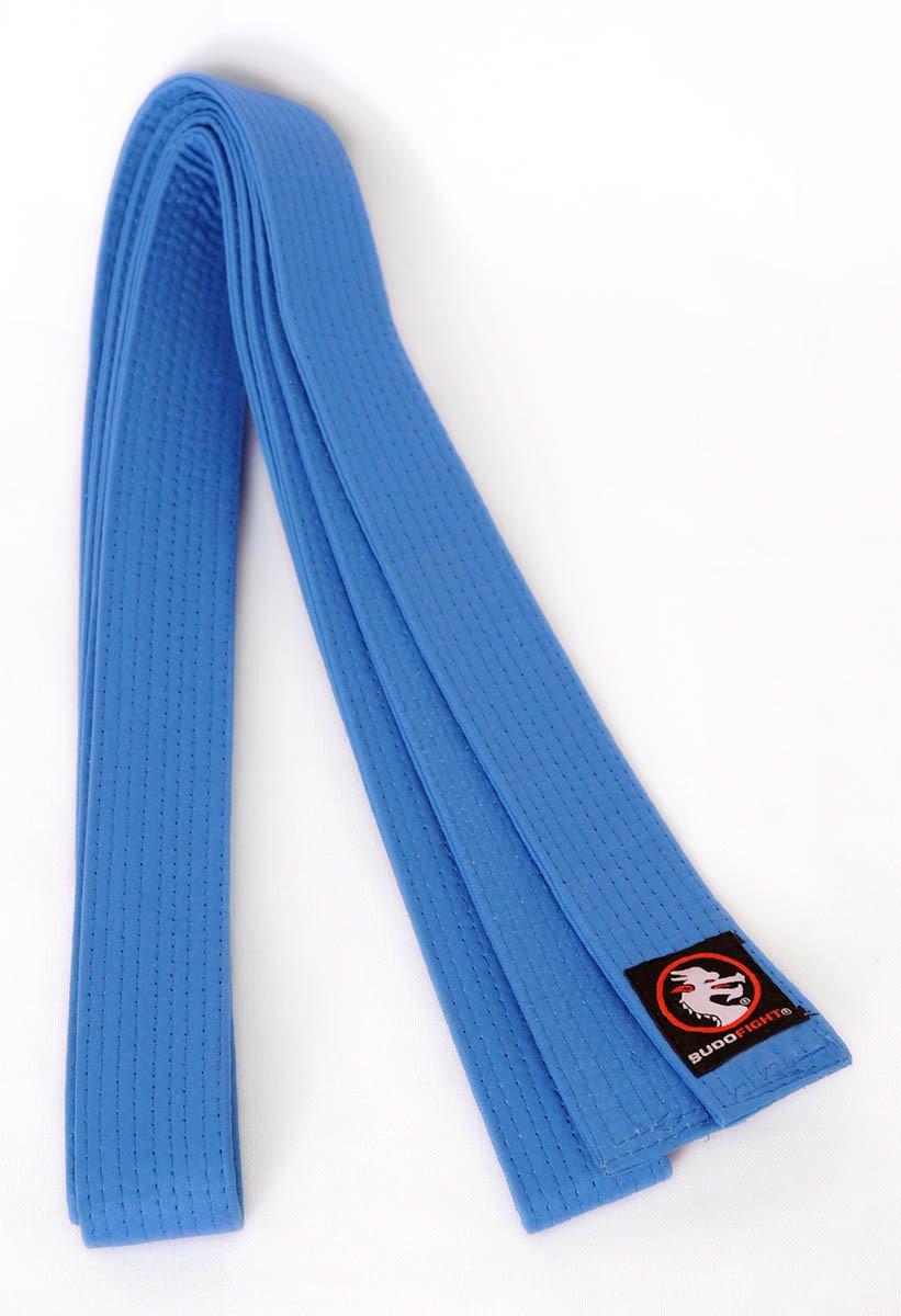 Ceinture Judo Piquée Bleue