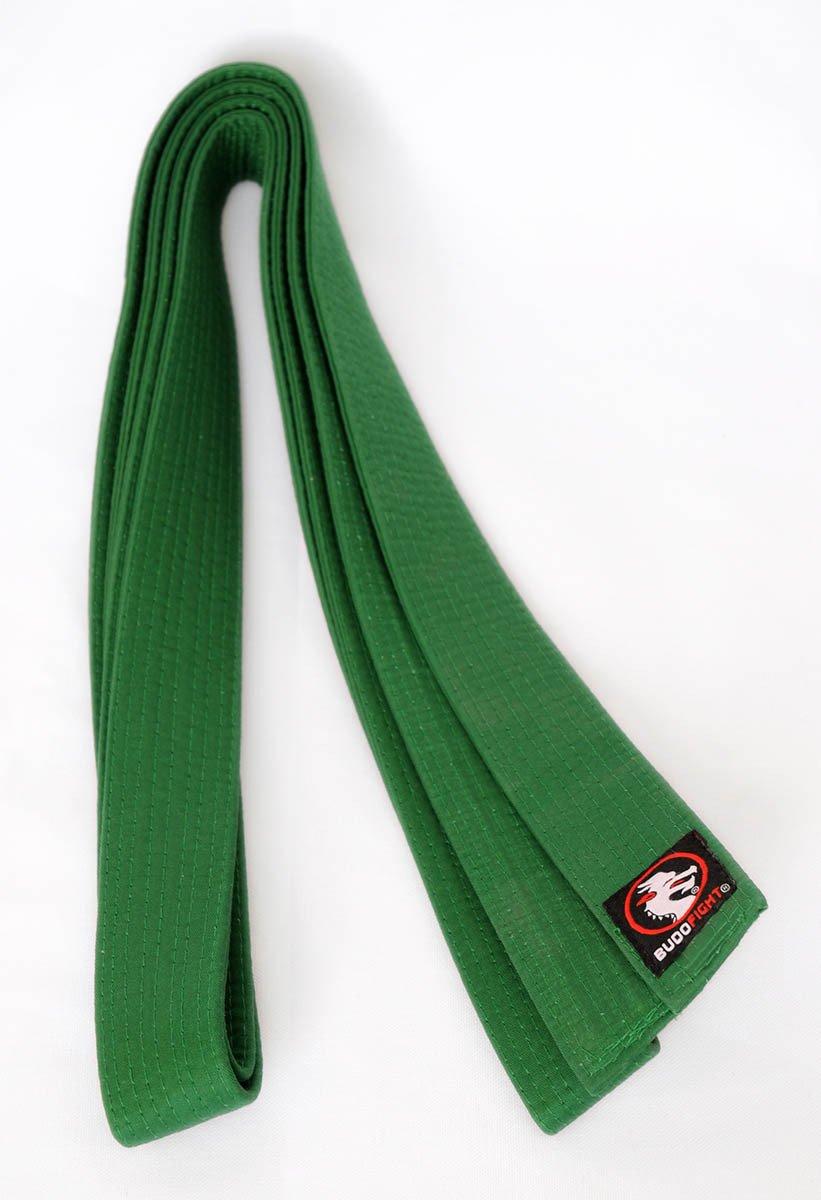 Ceinture Aikido Piquée Verte
