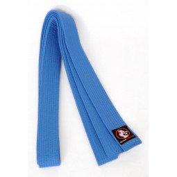 Ceinture Aikido Piquée Bleue