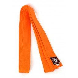 Ceinture Taekwondo Piquée Orange