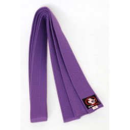 Ceinture Taekwondo Piquée Violette