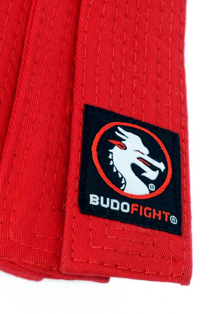 Ceinture Taekwondo Piquée Rouge