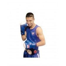 Gants de Boxe Élite Compétition Amateur Rouge