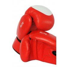 Gants de Boxe Elite Rouge