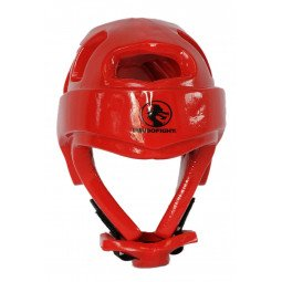 Casque Karate Rouge