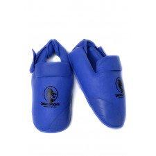 Protege Pied Karate Bleu