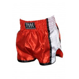Short Boxe Thai ThaiFight Rouge