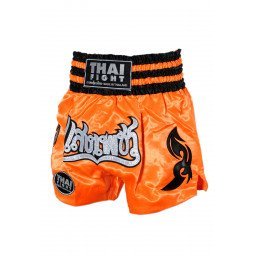 Short Boxe Thai ThaiFight Orange