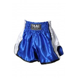 Short Boxe Thai ThaiFight Bleu