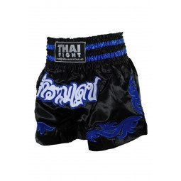 Short Boxe Thai ThaiFight Noir/Bleu