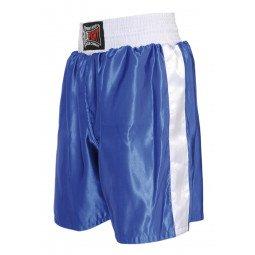 Short Boxe Anglaise Bleu
