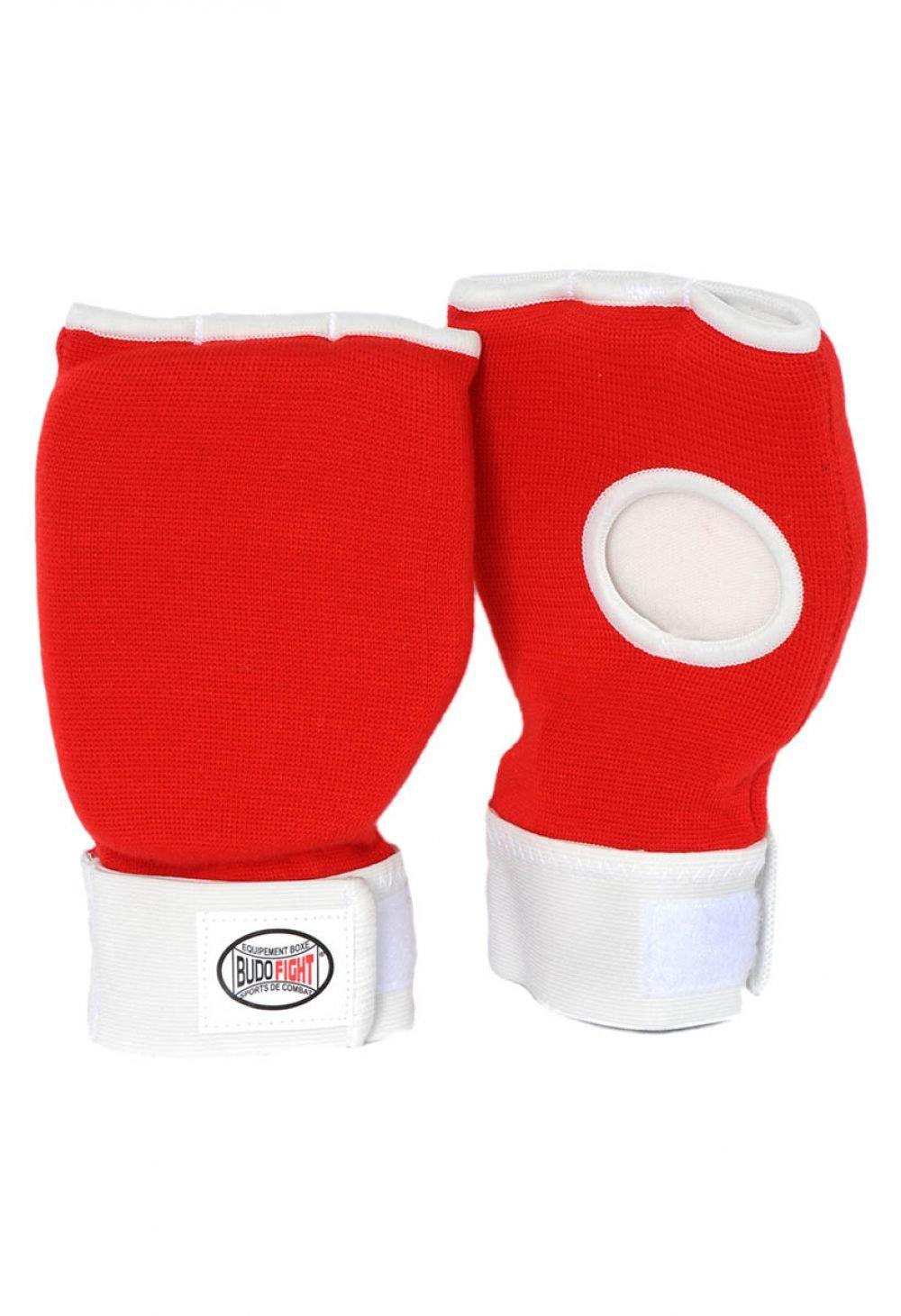 Protege Mains Coton Souple Rouge