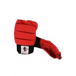 Protège mains PU Rouge