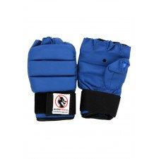 Protège mains PU Bleu