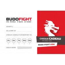 Chèque cadeau Budo-Fight