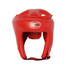 Casque Karate Contact rouge