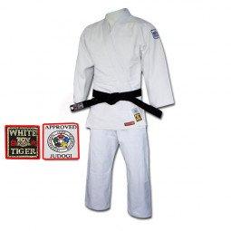 Kimono Judo White Tiger Excellence Equipe