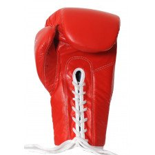 Gants de boxe Pro à lacets Spectral rouge