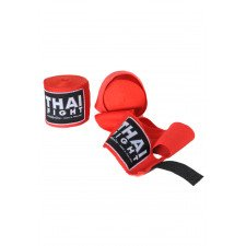 Bandes de Boxe Thai Fight rouge