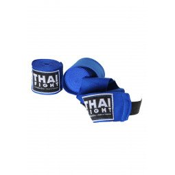 Bandes de Boxe Thai Fight bleu