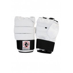 Gants MMA Ultimate Blanc