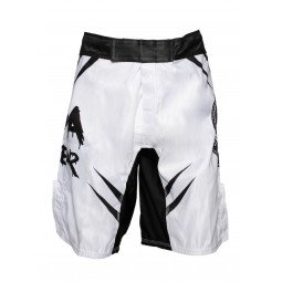 FightShort MMA No Fear Blanc