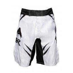 Short MMA No Fear Blanc