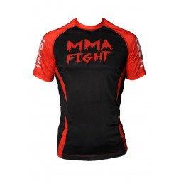Rashguard MMA Noir / rouge