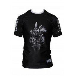 Rashguard MMA Noir Impression tête de mort