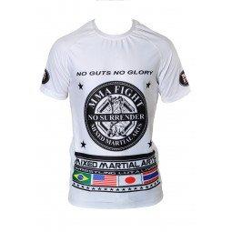 Rashguard MMA Blanc Impression MMA