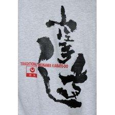 T-shirt Shureido Noir Logo Coeur & Logo au Dos