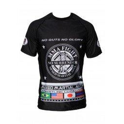 Rashguard MMA Noir Impression MMA
