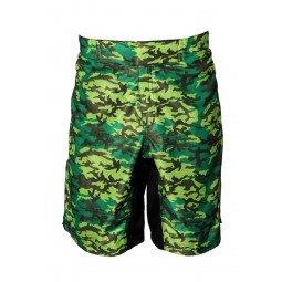 Short MMA imprimé vert militaire