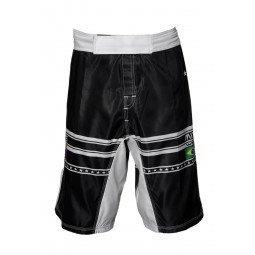 Short MMA imprimé noir et blanc