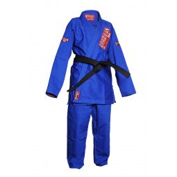 """Kimono JJB """"Bombado"""" bleu"""