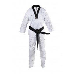 Dobok Taekwondo col noir