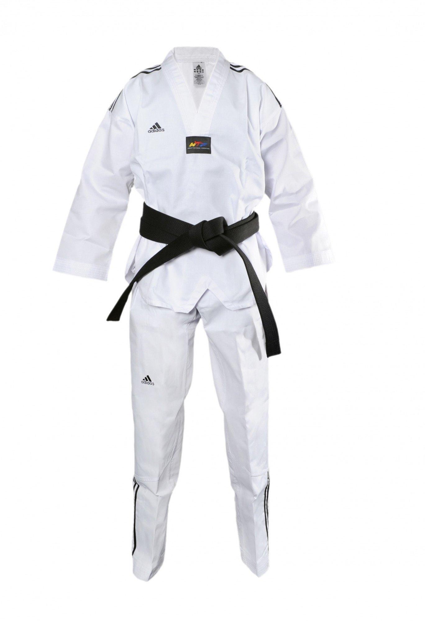 Col Taekwondo Taekwondo Dobok Dobok Blanc mO8Nnv0w