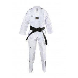 Dobok Taekwondo col blanc