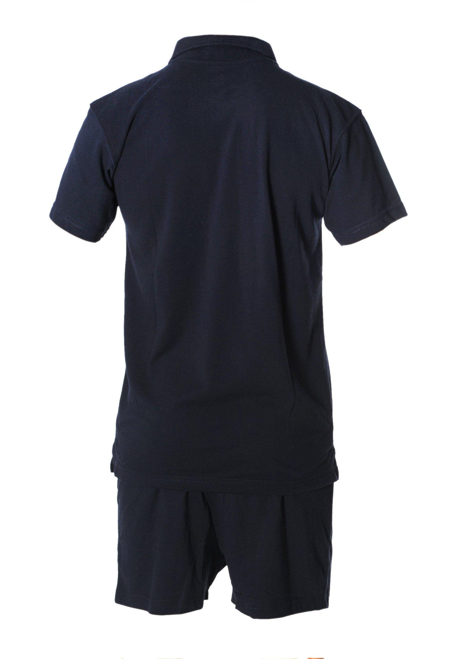 Polo Crossfit bleu marine