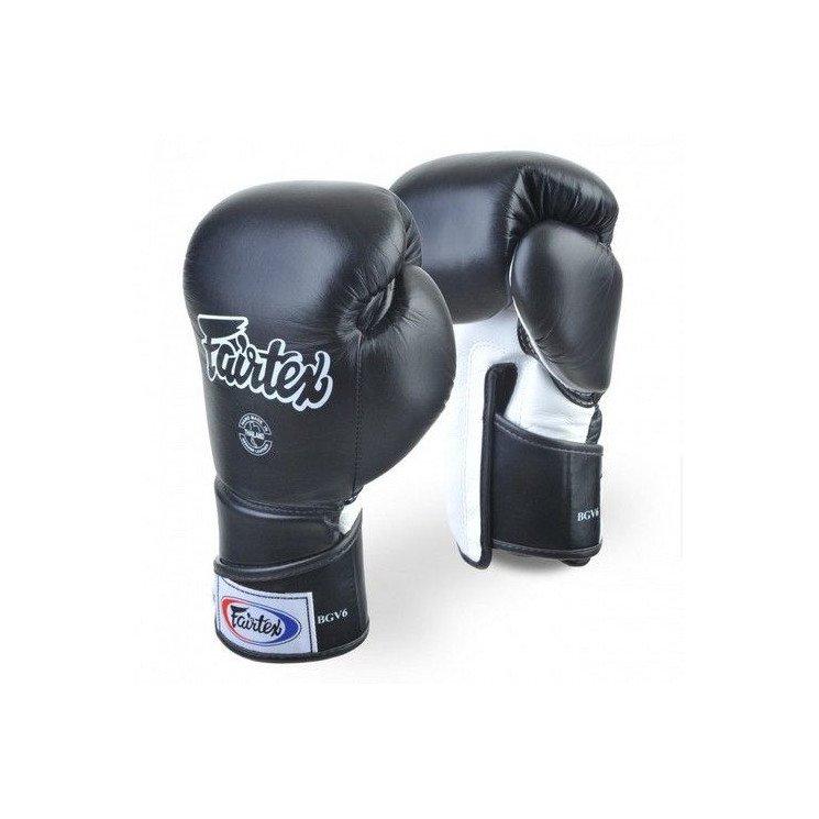 Gants de boxe Fairtex FXV6 noir