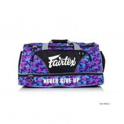 Sac de Sport Fairtex 60x30x30cm purple camo