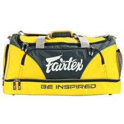 Sac de Sport Fairtex 60x30x30cm jaune