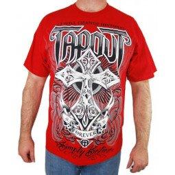 T-shirt Tapout croix rouge