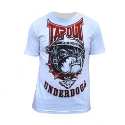 T-shirt Tapout blanc underdogs